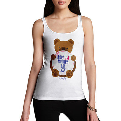 1st Mother's Day Bear Women's Tank Top