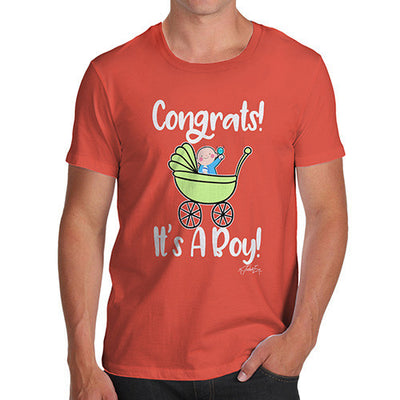 Congrats It's A Boy! Men's T-Shirt