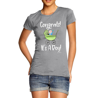 Congrats It's A Boy! Women's T-Shirt