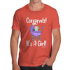 Congrats It's A Girl! Men's T-Shirt