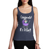 Congrats It's A Girl! Women's Tank Top