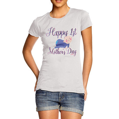 Happy 1st Mother's Day Baby Women's T-Shirt