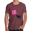 Pay Attention To Me Cat Men's T-Shirt