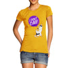 I Don't Care Cat Women's T-Shirt