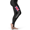 Great Britain Paint Splatter Flag Women's Leggings