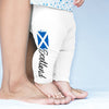 Scotland Paint Splatter Flag Baby Leggings Trousers