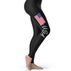 USA Paint Splatter Flag Women's Leggings
