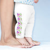 Eighties Squiggle Pattern Baby Leggings Trousers