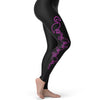 Pink Flamingos Pattern Women's Leggings