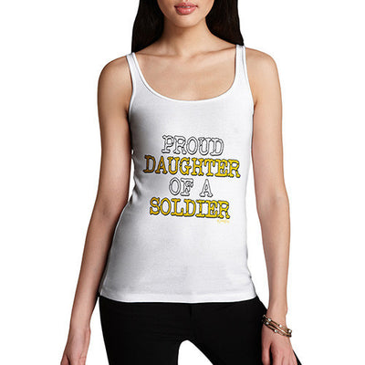 Proud Daughter Of A Soldier Women's Tank Top