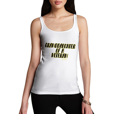 Granddaughter Of A Veteran Women's Tank Top