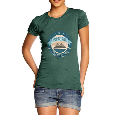 Camping Time Adventure Time Women's T-Shirt