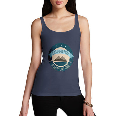 Camping Time Adventure Time Women's Tank Top