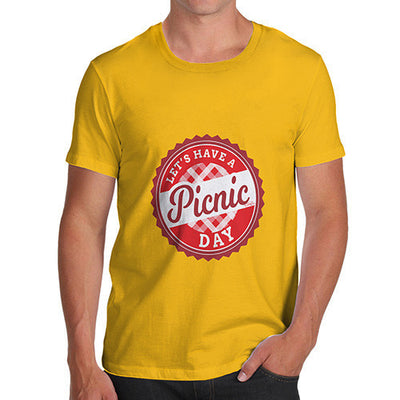Let's Have A Picnic Day Men's T-Shirt