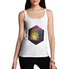 Camping Hexagon Night Time Women's Tank Top