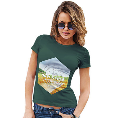 Live Adventure Landscape Women's T-Shirt