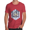 Adventure Begins Compass Men's T-Shirt