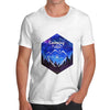 Camping Hexagon Watercolour Men's T-Shirt
