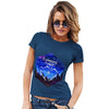 Camping Hexagon Watercolour Women's T-Shirt