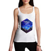 Camping Hexagon Watercolour Women's Tank Top