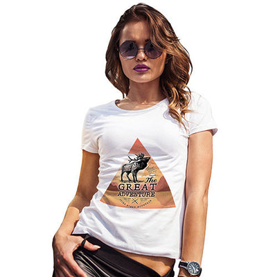 Moose Great Adventure Triangle Women's T-Shirt