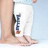 I Love Dallas American Football Baby Leggings Trousers