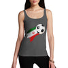 Iran Football Flag Paint Splat Women's Tank Top
