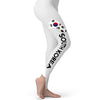 South Korea Football Soccer Flag Paint Splat Women's Leggings