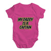 My Daddy Is A Captain Baby Unisex Baby Grow Bodysuit