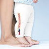 I Love North Carolina State Flag Baby Leggings Trousers