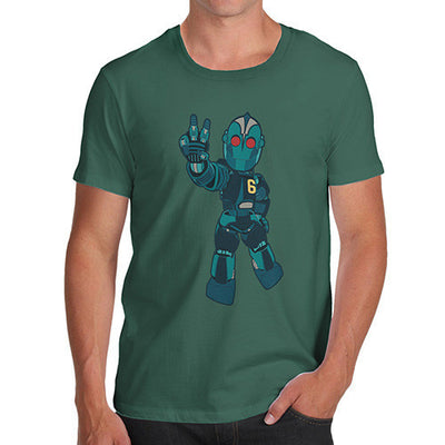 Peace Robot Men's T-Shirt