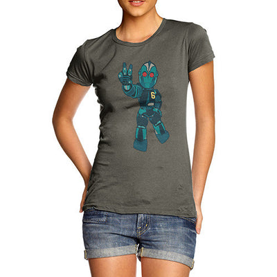 Peace Robot Women's T-Shirt