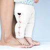 Red Stem Love Heart Baby Leggings Trousers