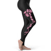 Pink Flowers Women's Leggings