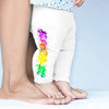 Paint Splatter Volleyball Baby Leggings Trousers