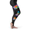 Rainbow Yoga Sukhasana Women's Leggings
