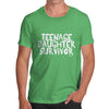 Teenage Daughter Survivor Men's T-Shirt