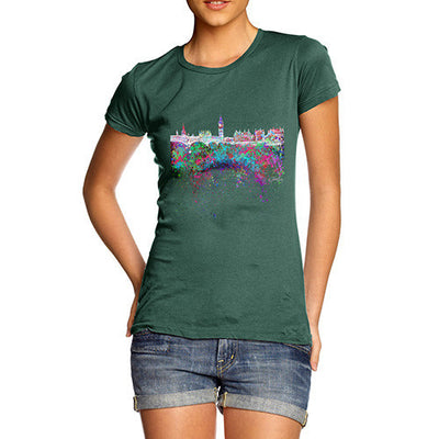 London Skyline Ink Splats Women's T-Shirt
