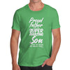 Proud Father Of A Super Son Men's T-Shirt