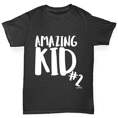 Amazing Kid Number 2 Boy's