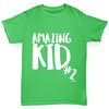 Amazing Kid Number 2 Boy's T-Shirt