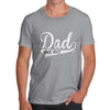 Personalised Dad Since Men's T-Shirt
