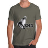 Bell End Funny Pun Rude Men's T-Shirt
