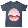 Circle Landscape Boy's T-Shirt