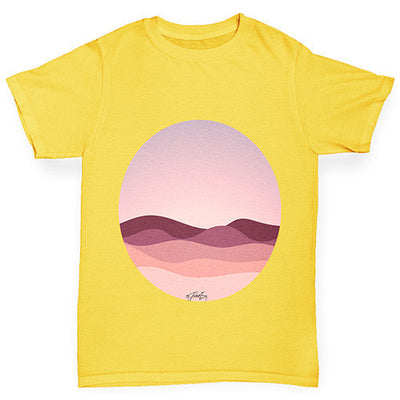 Circle Landscape Girl's T-Shirt