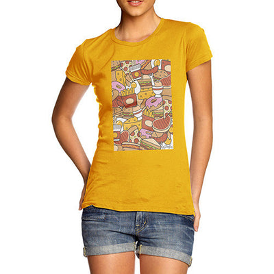 Food Collage Women's T-Shirt
