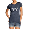 Skull Butterfly Women's T-Shirt