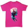 Cosmic Mountain Woman Girl's T-Shirt