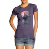 Cosmic Mountain Woman Women's T-Shirt