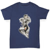 Tattooed Pin Up Lady Girl's T-Shirt